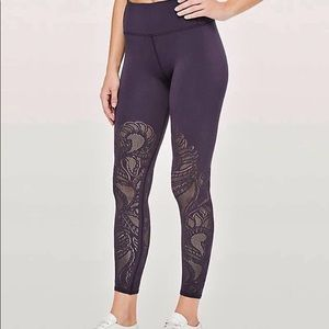 LULULEMON REVEAL 7/8 LEGGING DEEP PURPLE 2